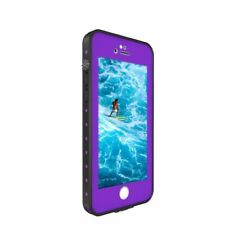 New For Apple iPhone 8 Waterproof Dirtproof Shock Proof Smart Case Cover - Black