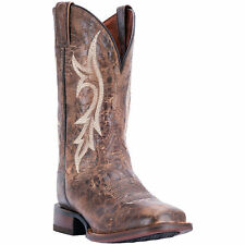 Dan Post Mens Brown Cowboy Boots Distressed Leather Cowboy Boots