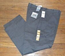 Mens Dockers Easy Khaki Classic Fit Flat Front Pants 36 by 29 No Wrinkles Gray