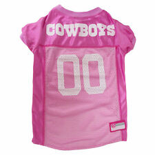 Pets First Dallas Cowboys NFL Pink Mesh Jersey