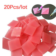 20 Pcs Paste DIY Sticker Dotting Diamonds Point Pen Drilling Mud Nail Art Tool