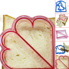 DIY Sandwich Toast Cookies Cake Bread Biscuit Food Cutter Plastic Mold Mould