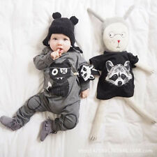 baby clothes long sleeve baby rompers Little monster baby boys clothes newborn