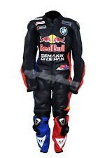 BMW REDBULL  Motorbike Leather Suit Motorcycle Leather Suit Racing suit
