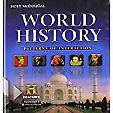 World History Patterns of Interaction: Holt McDougal World History : Patterns...
