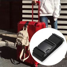 Travel Luggage Suitcase Adjustable Belt Strap Carry On Bungee Travel