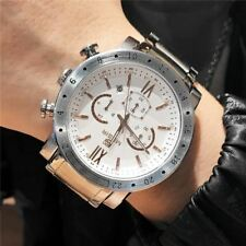 Top Luxury Brand MEGIR Sport Men Quartz Watch  Steel band  Mens Watches Sports M