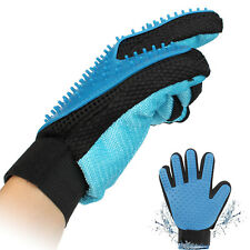 Pet Grooming Glove For Cats & Dogs Deshedding Brush Glove For Easy Hair Removal