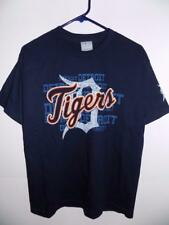 Detroit Tigers t shirt youth official MLB navy NWT