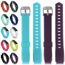Classic Replacement Stripe Buckle Wristband Bracelet Strap For Fitbit Alta Watch