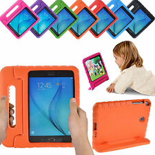 Kids Handle Stand EVA Shockproof Cover Case For Samsung Galaxy Tab E/3/A 7 8 9.6