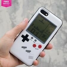 Fun Phone Case For iPhone 6 6S 7 8 Plus Cover Gameboy Tetris Game Boy Player