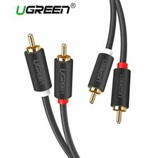 Ugreen 2RCA to 2 RCA Male to Male Audio Cable Gold-Plated RCA Audio Cable 2m 3m