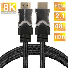8K HDMI Cable @120Hz/60Hz/30Hz UP to 10K High-Definition For Samsung TV, Sony TV