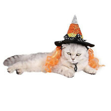Witch Hat Dog Pet Halloween Magic Hat Party Headwear Cosplay Accessories
