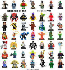 DC Justice League Minifigure Batman Joker Aquaman Clayface Hawkman Mini Figure