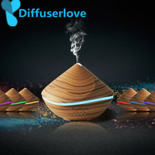 Ultrasonic Air Humidifier Aroma Essential Oil Diffuser LED Light Cool Mist Maker