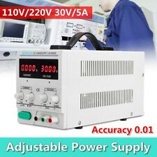 30V 5A Adjustable DC Power Supply Switching Regulated Digital Display
