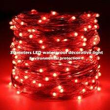 Extra Long 30m 300led Starry String Lights Warm White on a Flexible Copper Wire