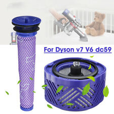 Replacement Pre & Post Motor Absolute HEPA Filter Kit Part For Dyson V7 V6 DC59
