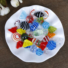 1/5/10Pcs Vintage glass sweets wedding party candy Christmas decoration FUSY