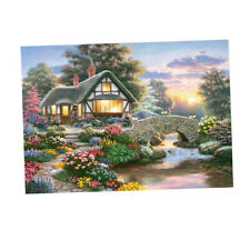 5D DIY Diamond Painting by Number Kit Full Drill Embroidery-12x16inch, Multi