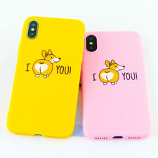 Corgi  Funny Cute Dog Ass Phone Cases for iPhone 6s 7 8 11 Plus Pro X XS MAX XR