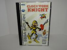 Clockwork Knight Sega Saturn  - Replacement manual, insert and case
