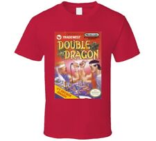 Double Dragon Nes Video Game Cover T Shirt
