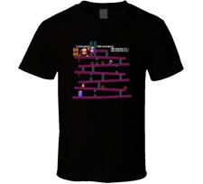 Donkey Kong Level 1 Nes Video Game Cool T Shirt