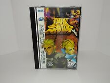 Dark Savior Sega Saturn - Replacement manual, insert and case