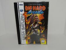Die Hard Arcade Sega Saturn - Replacement manual, insert and case
