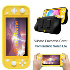 1pc Soft TPU Silicone Cover With 2 Game Card Holder For Nintendo Switch Lite New