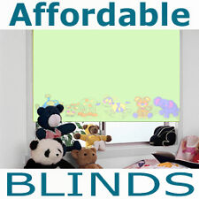 Made to Measure Blackout Blinds Green Jungle Childrens