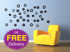 Wall Stickers Shapes, Flower, Stars & Mixture of shapes