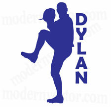 Baseball Personalized Name Vinyl Wall Decal Lettering