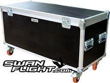 1200 x 500 x 500 Swan Flight Case Road Cable Trunk