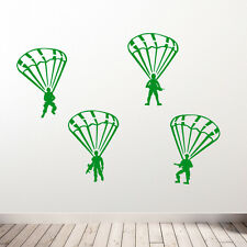 ARMY TRANSFERS STICKERS MILITARY MEN SOLDIERS DECALS PARATROOPERS VINYL CONCEPT