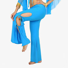 New belly dance Side Bind trousers pants 9 color Purple
