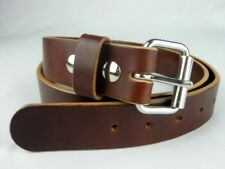 LEATHER WORK BELT_AMISH HANDMADE_BELTS_MENS_1 1/2""