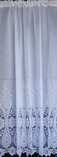 Amersham design white net curtain lovely heavy quality Reduced to Clear
