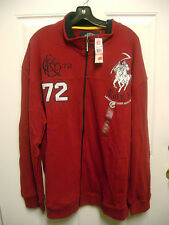 Ecko Unlimited Non Members Track Jacket NWT $69.50 Red