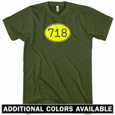 AREA CODE 718 T-shirt - Brooklyn Queens Bronx Staten NYC New York City XS to 4XL
