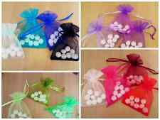 3 sizes-24 colours Premium Organza Jewellery bags pouch
