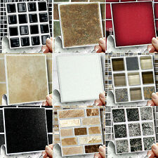 Stick and Go Wall Tiles - Kitchen Or Bathroom, Pack Of Tiles To Cover 2 Sq Feet