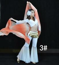 SV03# Gradient Colors Silklike Belly Dance Costume Veil Shawl 13 Colors