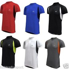 More Mile Mens Cycle Cycling Bike Top Jersey T-Shirt