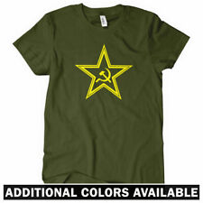 USSR STAR Women's T-shirt - Hammer Sickle Soviet Russia Communist CCCP - S-2XL