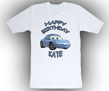Personalized Custom Cars Sally Birthday T-Shirt Gift