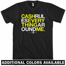 CREAM T-shirt - Cash Rules C.R.E.A.M. Music Wu Tang Hip Hop 36 Chambers - XS-4XL